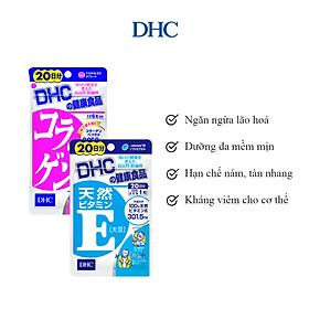 Combo Viên Uống DHC Đánh Thức Tuổi Xuân (VitaminE & Collagen)
