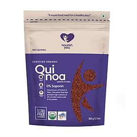 Hạt diêm mạch đỏ hữu cơ Organic Red Quinoa Nourish You Gói 500g