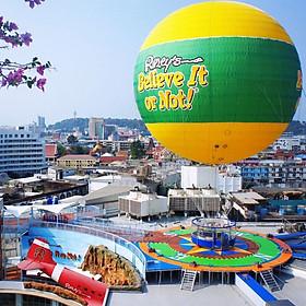 Vé Ripley'S World Of Entertainment Pattaya, Thái Lan (Loại Vé 3 Khu Triễn Lãm)