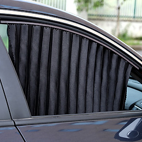 Bộ 4 chiếc Rèm Vải đa năng che nắng cánh cửa ô tô, xe hơi CC21