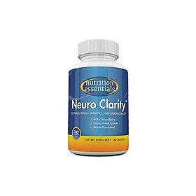Nootropic Brain Function Booster Supplement - Enhance Memory, Mental Clarity, Energy, Focus, Concentration - Brain Support with St. John's Wort and Ginkgo Biloba - 1 Month Supply