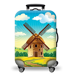 Túi bọc bảo vệ vali -Áo vỏ bọc vali - Cối Xoay Gió