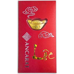 Bao lì xì vàng 24K Kim Nguyên Bảo tài lộc Ancarat - BLX05