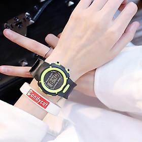 Đồng hồ thời trang trẻ em điện tử LCD shock resist DH74