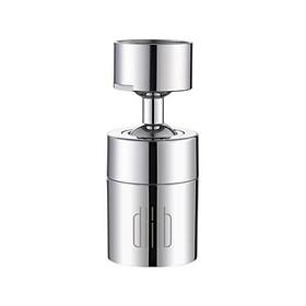 Đầu vòi nước xoay 360 độ đa chức năng giúp lọc nước tiết kiệm nước cho phòng bếp, nhà tắm