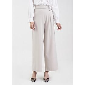 Quần Nữ Dài Đắp Tay Nhấn Nút Ly Marc Fashion JH101818