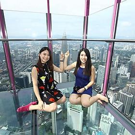Vé Tham Quan Đài Quan Sát + Sky Deck + Sky Box KL Tower, Kuala Lumpur, Malaysia