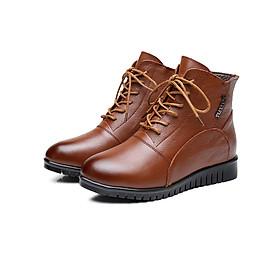 Giày Boot nữ lót lông B109N