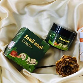 Kem dưỡng Trái nhàu Adeva Noni (50 gr/ 1 hộp) - Adeva Noni cream - Dưỡng da mặt ban đêm - Kem dưỡng từ thiên nhiên - Kem dưỡng từ Trái nhàu cấp ẩm cho làn da mềm mịn, giàu vitamin C làm sáng da