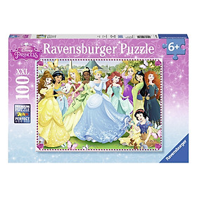 Xếp Hình Puzzle Công Chúa Disney 100 Mảnh Ravensburger RV10570 0