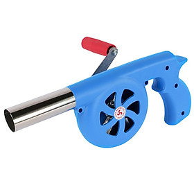 BBQ Air Blower Manual Picnic Camping Make Fire Combustion Tool Outdoor Bbq Kitchen Stuff Air Blower