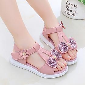 Sandal bé gái 3 - 12 tuổi kiểu dáng Hàn Quốc SG31
