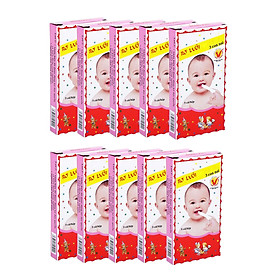 Combo 10 hộp gạc rơ lưỡi ba con nai ( Hộp 5 cái )