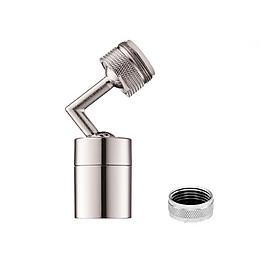 Đầu vòi nước xoay 720 độ, tiện ích, tăng áp, tạo bọt, hai chế độ tiết kiệm nước, đạt tiêu chuẩn NSF - WHO