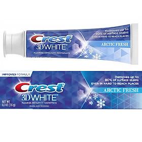 Kem đánh răng trắng răng Crest 3D White Arctic Fresh Whitening 116g (Mỹ)