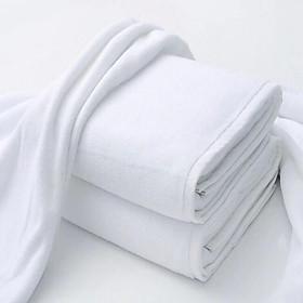Combo áo choàng + khăn tắm khách sạn