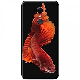 Ốp lưng dành cho Xiaomi Redmi 5 Plus mẫu Cá đỏ