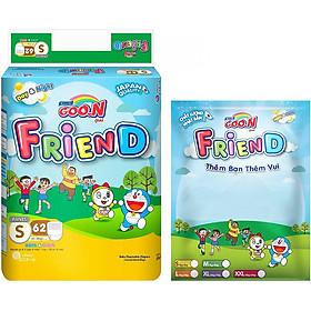 Tã Quần Goo.n Friend Gói Cực Đại S62 (62 Miếng) + Tặng Thêm 8 Miếng