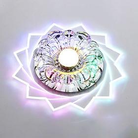 Đèn Led Pha Lê Treo Trần Nhà (3W) (20cm)