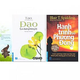 Combo 2 cuốn: Hành Trình Về Phương Đông +  Đạo - Con Đường Không Lối + Bookmark danh ngôn hình voi