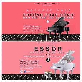 Combo Sách - Giáo Trình Dạy Piano Nổi Tiếng Của Pháp (Bộ 2 Tập)