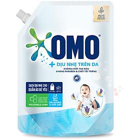 Túi Nước Giặt OMO Dịu Nhẹ Trên Da 2.0kg