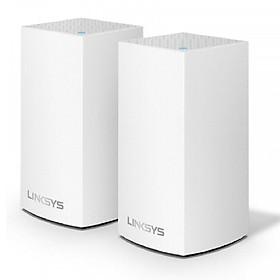 Linksys Velop Intelligent Mesh WiFi System AC2600 MU-MIMO (2-Pack) WHW0102-AH - Hàng Chính Hãng