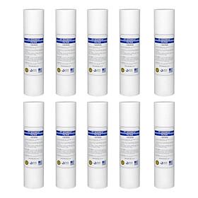 Bộ 10 Lõi lọc nước số 1 PP 1micron dùng trong máy lọc nước (Hàng chính hãng)