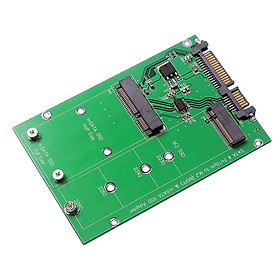 NGFF M.2 B KEY / mSATA SSD Solid State Drive to 2.5'' SATA Adapter Card