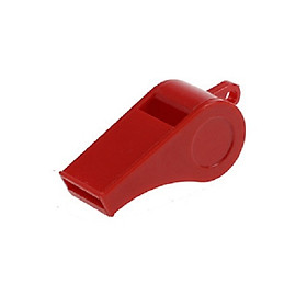 Còi nhựa thể thao màu đỏ