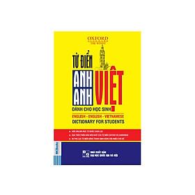 [Download Sách] Từ điển Anh Anh -Việt cho học sinh bìa vàng ( tặng 1 giá đỡ iring dễ thương)