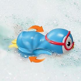 Đồ chơi tắm chim cánh cụt bơi lội - Munchkin - Màu xanh lam