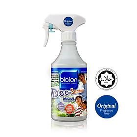 Chai xịt Bioion Deo-Sanitizer 500ML khử mùi, làm sạch vật dụng gia đình