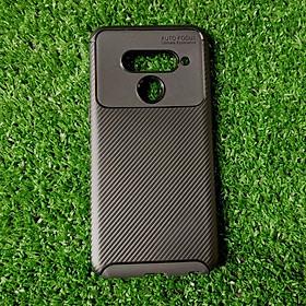 Ốp lưng LG V50 auto focus vân carbon - Hàng nhập khẩu