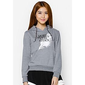 Áo khoác nữ cổ chui hoodie Phúc An