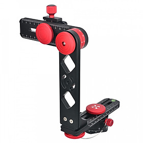 Andoer PH-720B 720° Panoramic Head Aluminium Alloy with Arca-Swiss Standard Ball Head Quick Release Plate Carry Bag Max.
