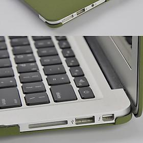 Ốp lưng cho Macbook cao cấp - Màu Xanh Rêu
