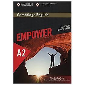 Cambridge English Empower Elementary Student's Book: Elementary