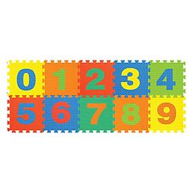 Thảm Ghép Hình Số (0-9) 10 Miếng Pamama P0301 (62 x 32 cm)