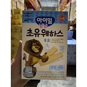 Bánh xốp  Ayimeal Yum Yum Colorstrum (Hàn Quốc) vị sữa cho bé
