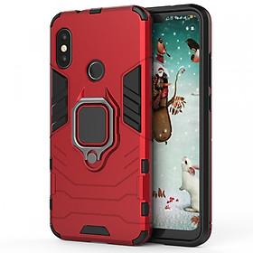Ốp Lưng Dành Cho Xiaomi Mi A2 Lite / Redmi 6 Pro IRON - MAN IRING Nhựa PC Cứng Viền Dẻo Chống Sốc