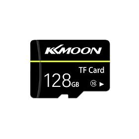 KKmoon Micro SD Card TF Flash Memory Card Data Storage 128GB Class 10 Fast Speed(Black)