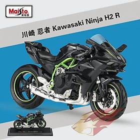 Mô hình MAISTO mô tô 1:12 dòng Kawasaki Ninja H2TM R 16880/MT31101