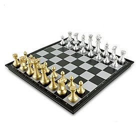 25*25*2cm Magnetics Chess Portable International Chess Set Folding Chess Children Gift