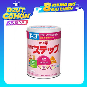 Sữa bột Meiji 1-3 tuổi Growing up Formula 800g (nhập khẩu chính hãng - mẫu mới)