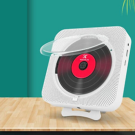 Cd Player Portable Double-horn Wall-mounted Bluetooth Player For Early Education And Prenatal Education