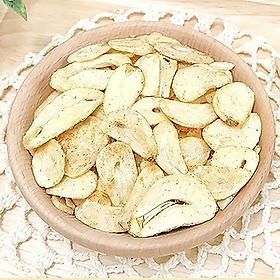 Tỏi sấy khô Green Market Garlic Bulb Chips Đài Loan - 60g (vị gà ba cốc)