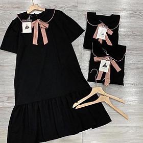 Váy Đuôi Cá Nơ Hồng Đỗ MB152