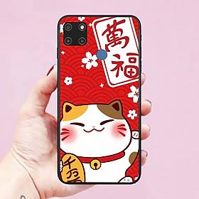 Ốp lưng dành cho điện thoại Realme C12 Hình Mèo Thần Tài Lộc Phát