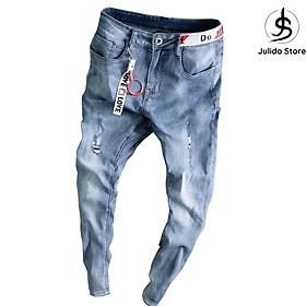 Quần jeans nam cao cấp nhiều mẫu Julido, chất jean co dãn 4 chiễu mẫu HUY01